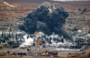 Удар по Сирії