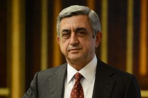 Президент Вірменії Серж Азатович Саргсян