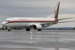 прикордонний контроль літаків з Білорусі