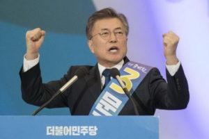 президент Південної Кореї Мун Чже Ін