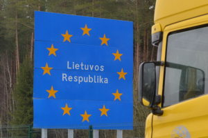 Литва побудує стіну на кордоні з Росією