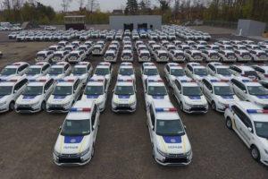 Mitsubishi Outlander PHEV для Національної поліції