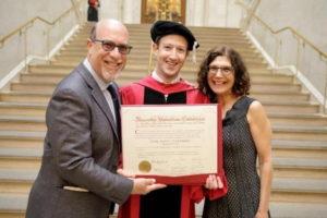 Марк Цукерберг отримав диплом Гарварду
