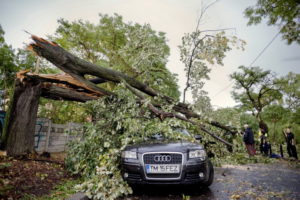 Ураган в Румунії