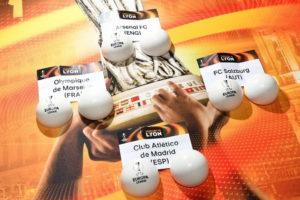 жеребкування півфіналів Ліги Європи 2017/2018