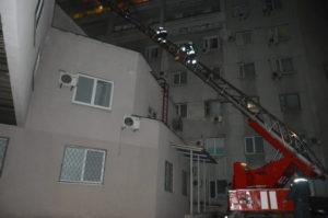 пожежа в лікарні Мечникова