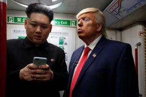 Двійники Трампа і Кім Чен Ина