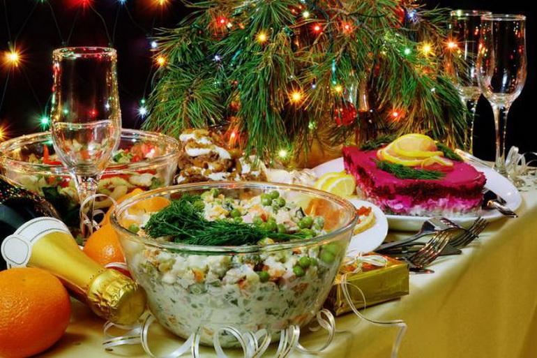 Стіл на Новий рік в Україні подорожчав на 20%
