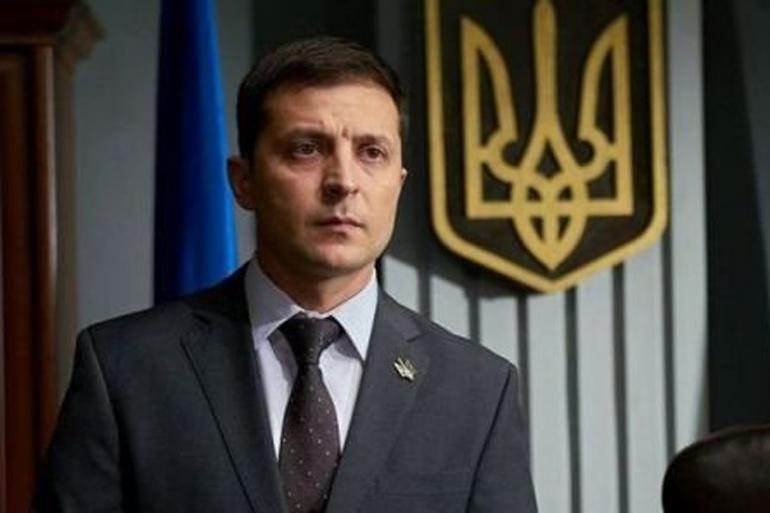 Зеленський записав чергове відеозвернення до Порошенка