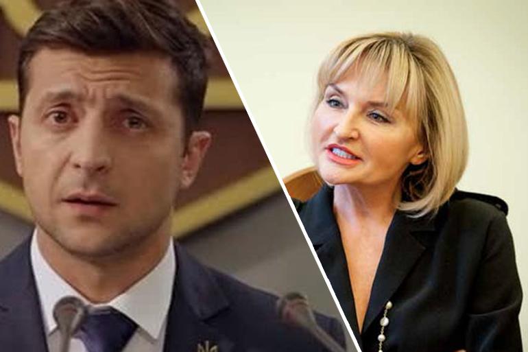 Ірина Луценко звинуватила Зеленського у некомпетентності