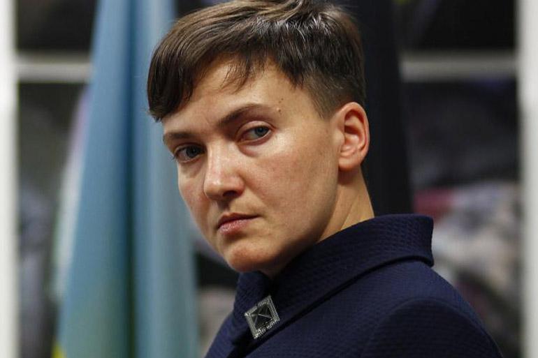 Надія Савченко йде у Раду від Донеччини