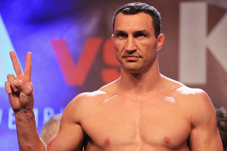 Володимир Кличко провів тренування в Києві