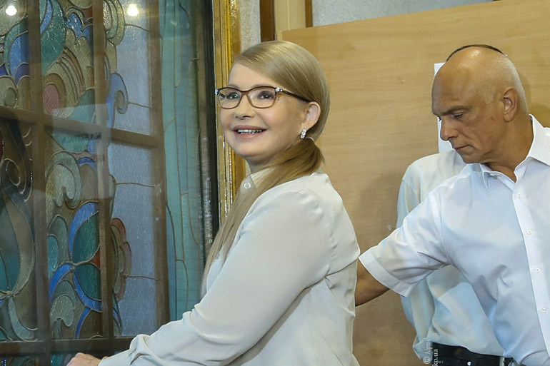 Ми єдина команда, яка має програму, стратегію підняття України, – Юлія Тимошенко