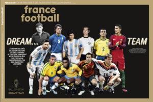 Збірна всіх часів за версію France Football